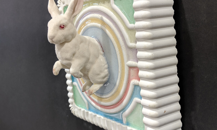 COTTON CANDY BUNNY, Side View