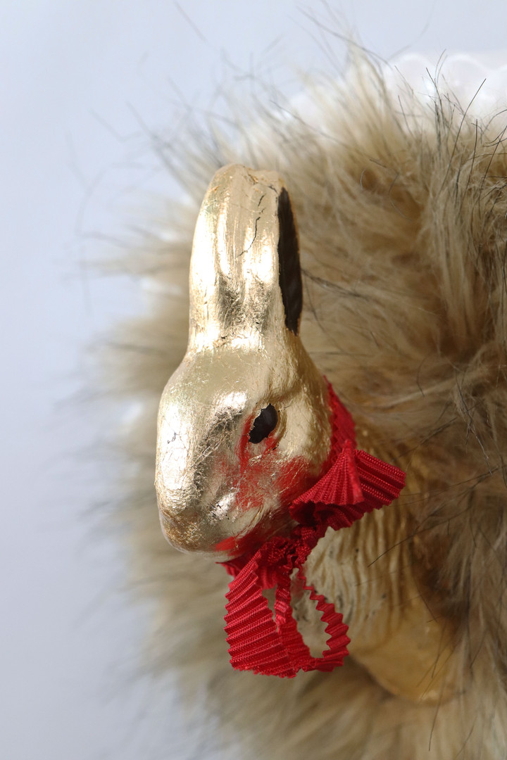 LUXURY BUNNY, detail (SOLD)