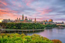 Parliament Hill in Ottawa, Ontario, Cana