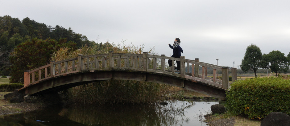 小貝川と憩いの場ー川口公園ー