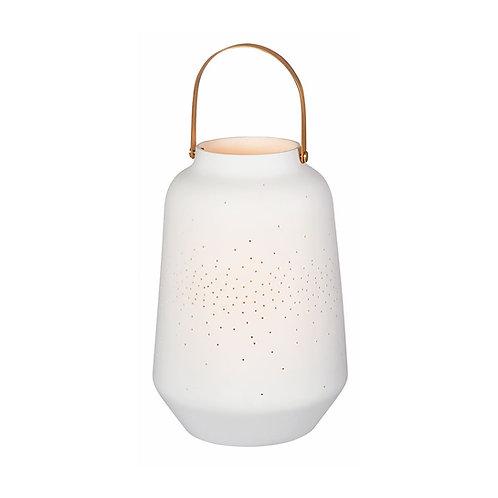 Grande lanterne en porcelaine
