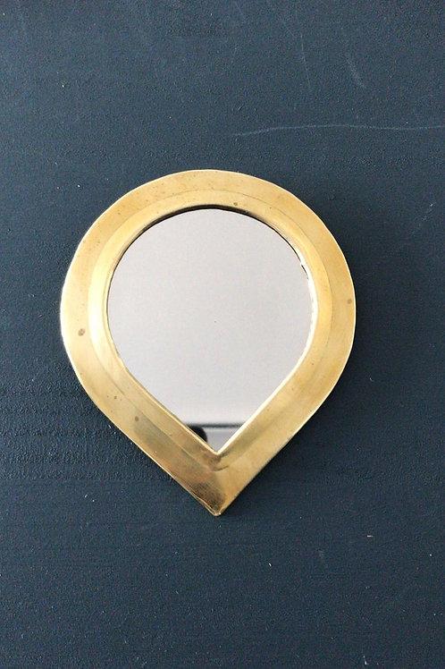 Miroir en cuivre petite goutte