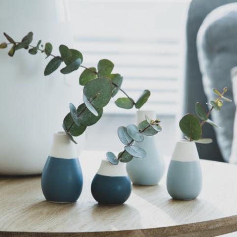 Set de 4 mini vases