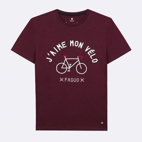 Tee-shirt FAGUO en coton porto