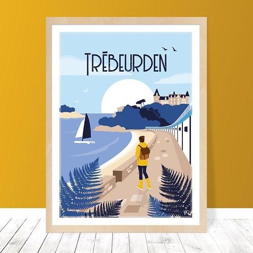 Affiche 30x40 Trébeurden
