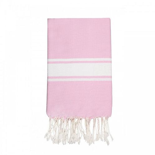 Fouta traditionnelle rose