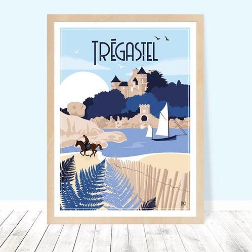 Affiche 30x40 Trégastel