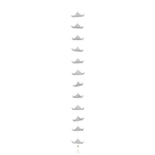 Guirlande bateaux gris
