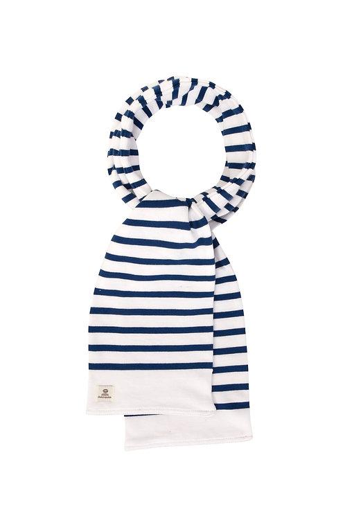 Écharpe marinière enfant marine