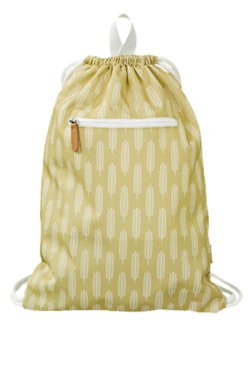 Copie de Sac piscine / jouets jaune - motif épis de blé