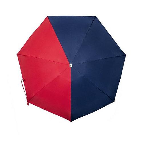 Parapluie pliant de poche bicolore - 3 modèles