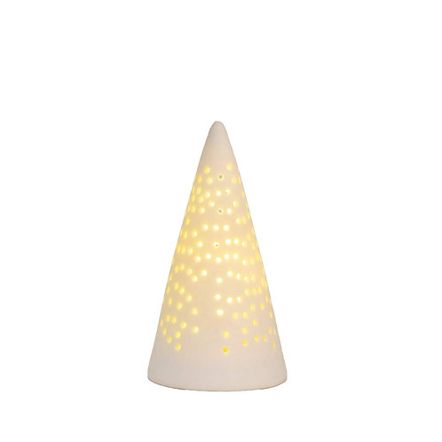 Sapin lumineux en porcelaine taille petite
