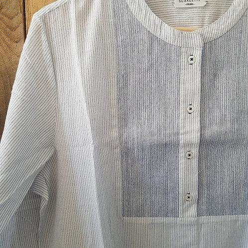 Tunique en voile de coton JACK manches longues