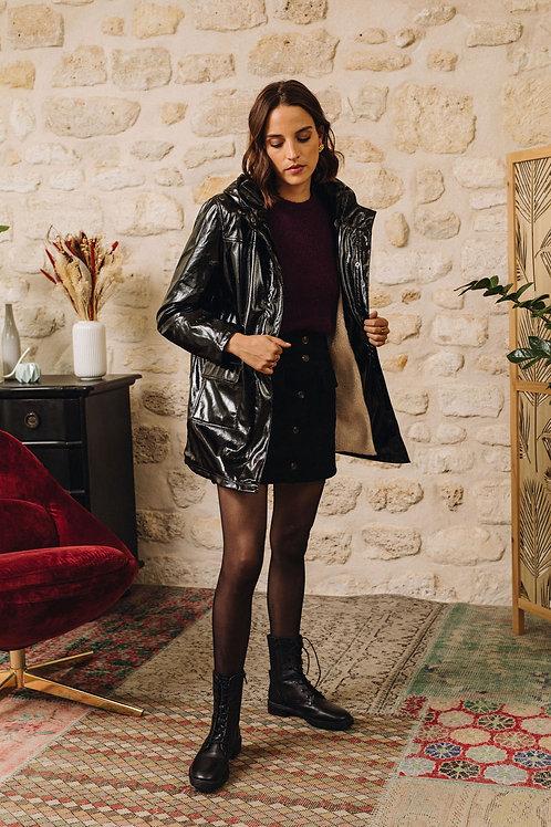 Manteau ciré noir La Petite Etoile