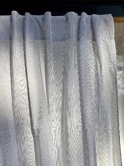 Paire de rideaux en voile de coton JACK