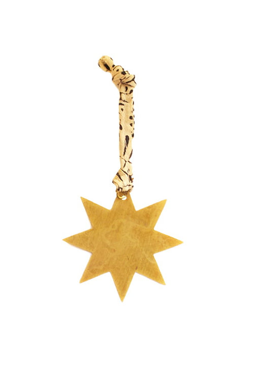 Breloque dorée étoile