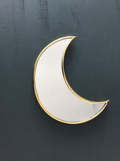 Miroir en cuivre lune
