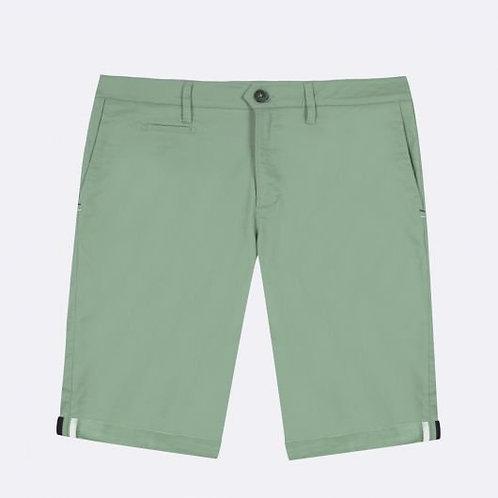 Bermuda Faguo en coton bio vert clair