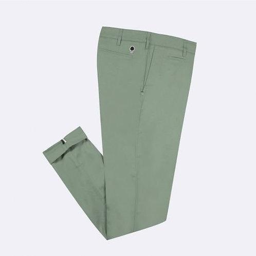 Chino en coton bio vert clair