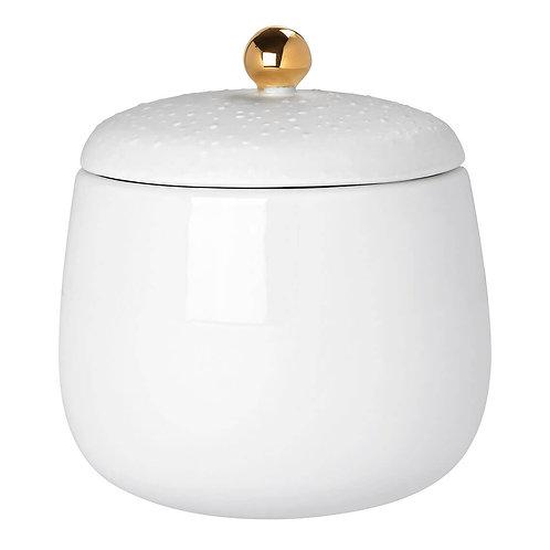 Sucrier / Boîte à bijoux en porcelaine moyenne