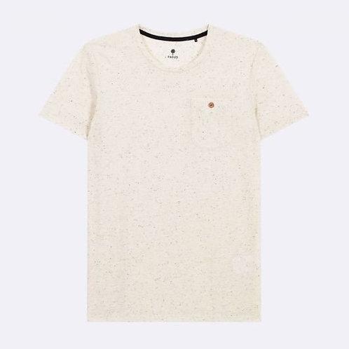 Tee-shirt FAGUO écru moucheté