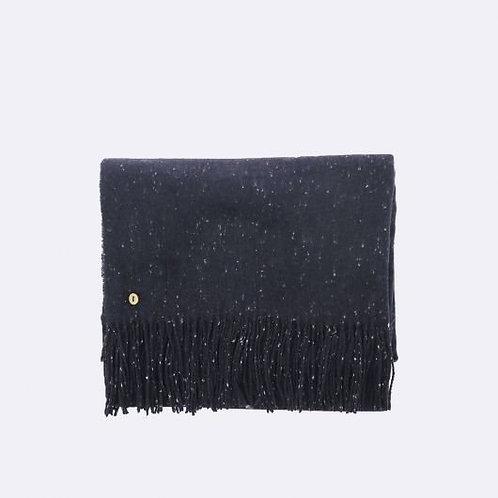 Echarpe en toile et polyester recyclé marine