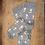 Thumbnail: Paire de chaussettes Mouettes fond gris