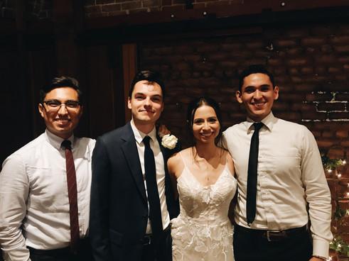 Vincent,Tatiana and Quique