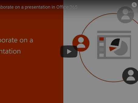 Office 365 Tip - Collaborate on a Presentation in Powerpoint
