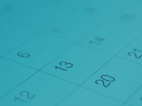 Review Your Calendar Monthly For Better Perspective