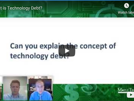 How Technology Debt Leads to Larger Expenses Down the Road?