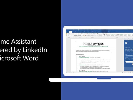 How to Use Resume Assistant in Microsoft Word to Write Your Best Resume