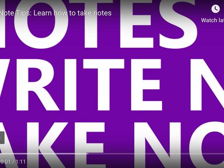 OneNote: The Basics of Taking Notes
