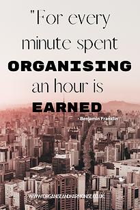 Quote | Bejamin Franklin | Organising