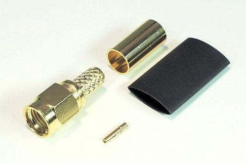 Conector macho SMA-M para cable RG58 AX10575