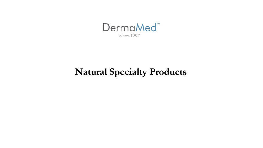 DermaMed Natural Solutions presented by