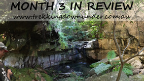 Trekking Downunder | Month 3 in Review