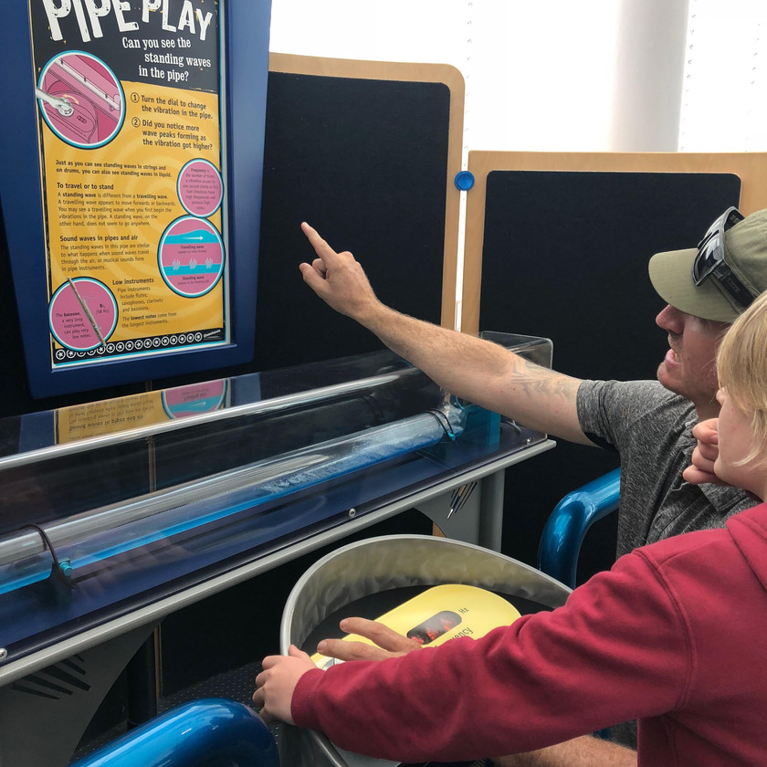 pipe play | sound waves