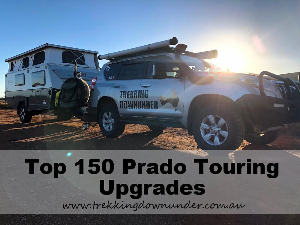 Prado 150 Touring 4wd setup