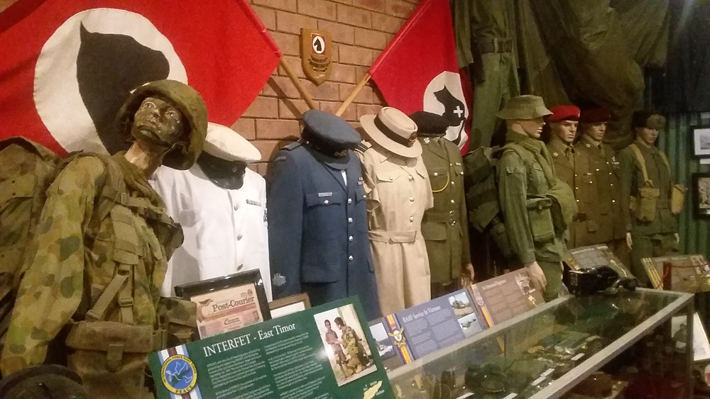 Large collection of uniforms