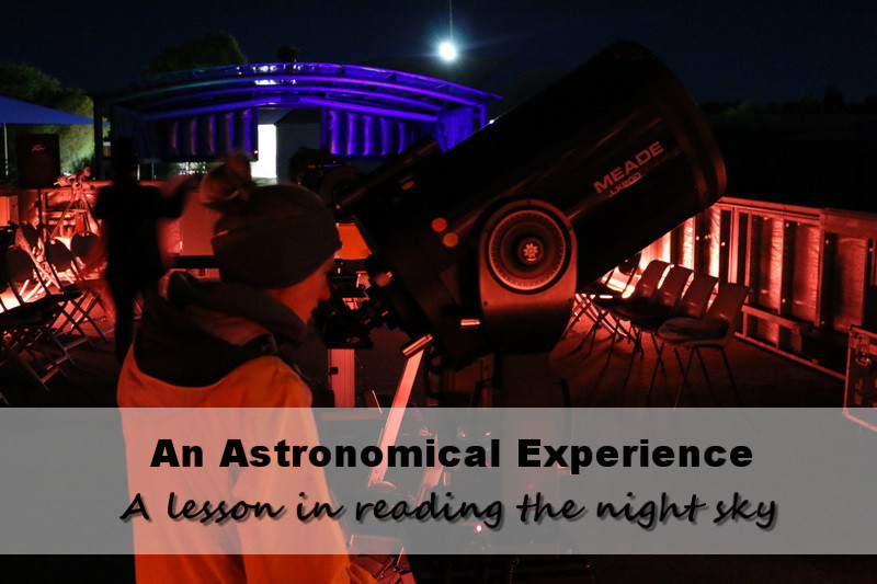 charlevlle astromony night time telescope