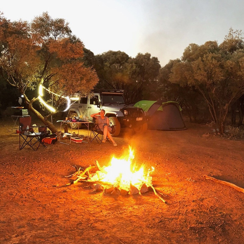 Outback QLD camping