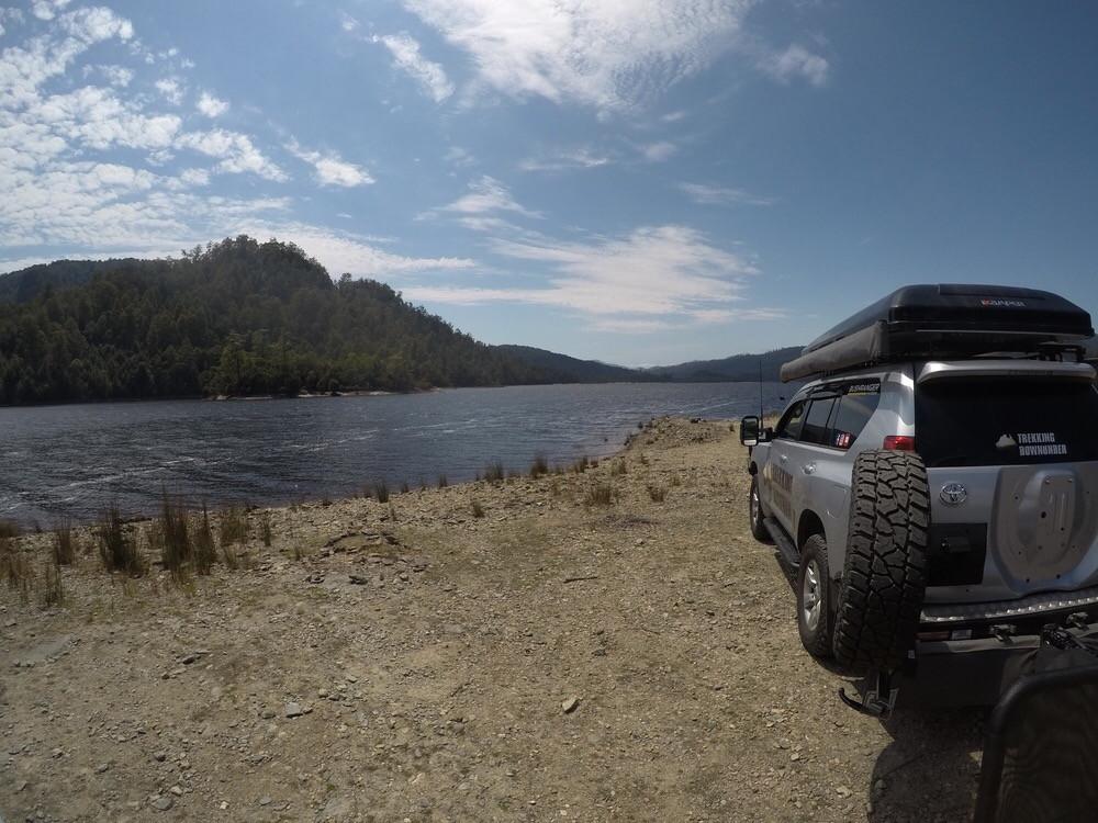 Mackintosh Dam free camping