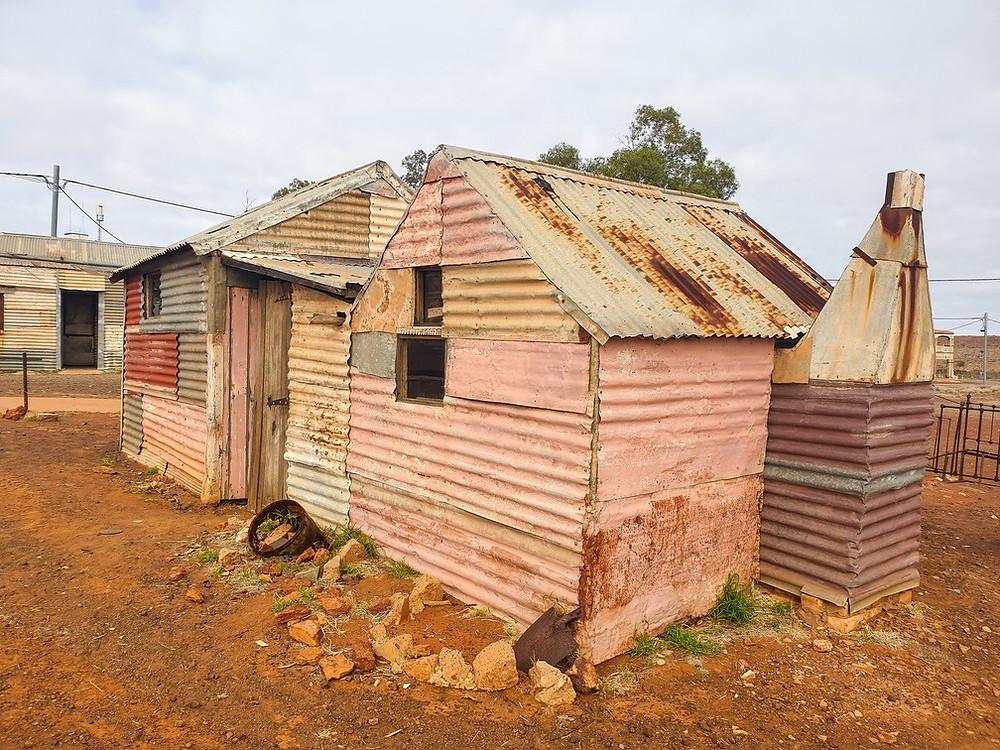 Gwalia restored huts