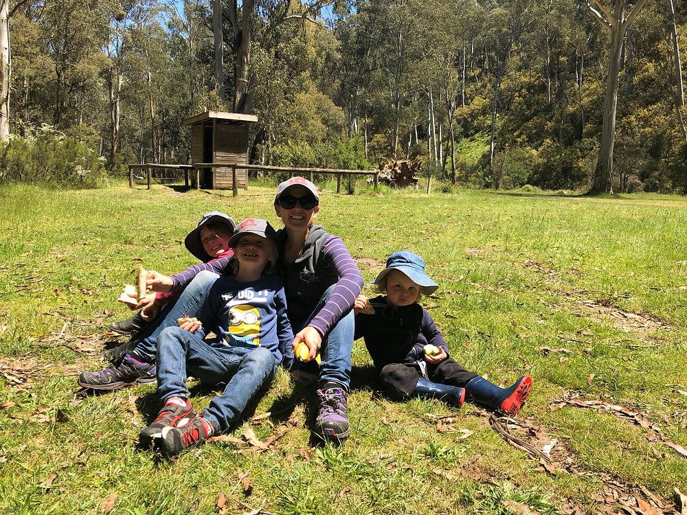 Family time in the Victorian High Country