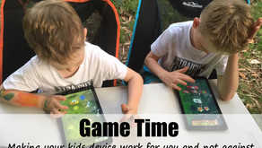 Game Time.... Making your kids devices work for you and not against you