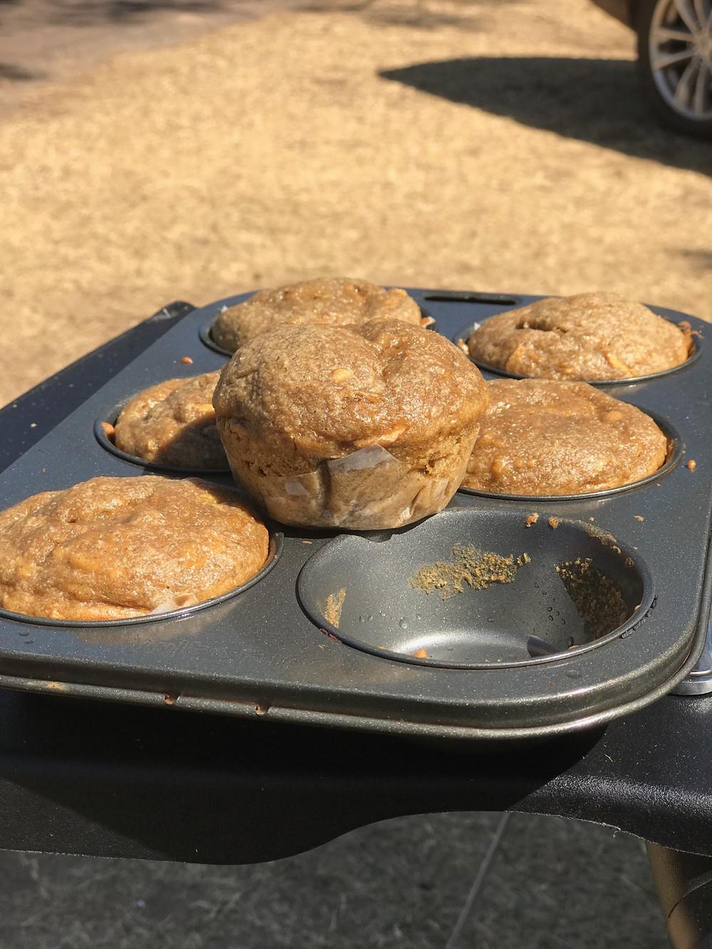 Gluten Free Vanilla Muffins