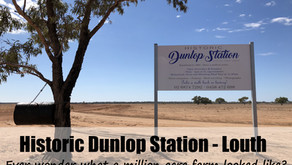 The Historic Dunlop Station - Louth NSW