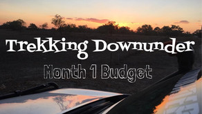 Travelling Fulltime - Month 1 Expense Budget