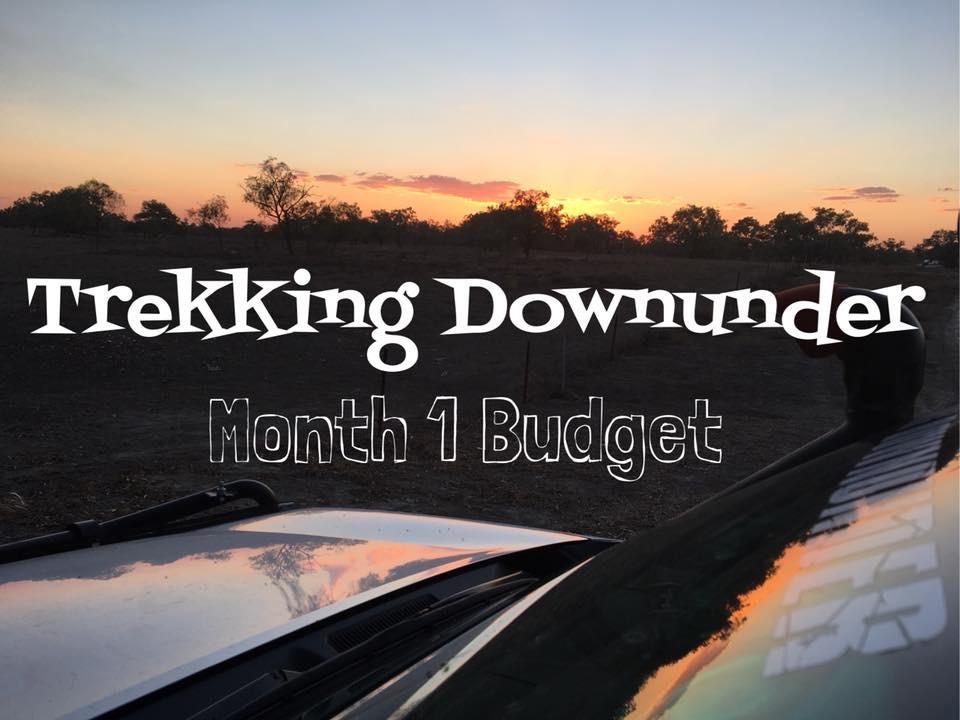 Month 1 Budget
